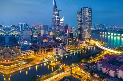 Image of Ho Chi Minh City in Vietnam, also known as Saigon