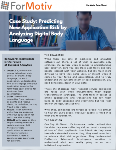 case study predictive analytics application risk