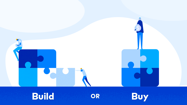 insurance insurtech build vs buy
