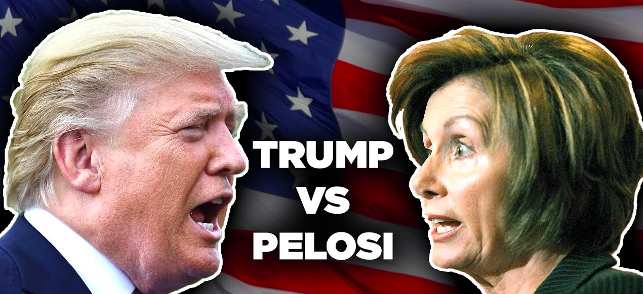 trump vs pelosi