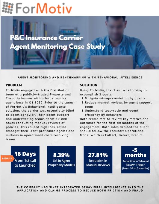 p&c insurer case study